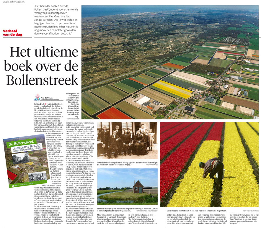 BOLLENSTREEKBOEK_L.Dagblad