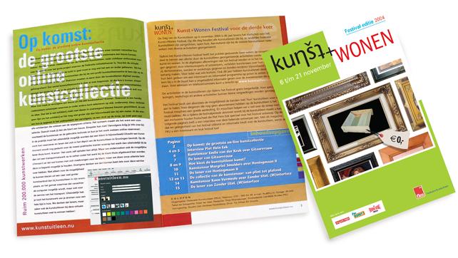Brochure.Kunst+Wonen